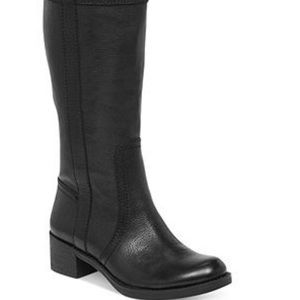 Lucky Brand Hibiscus Wide Calf Pull Up Boots